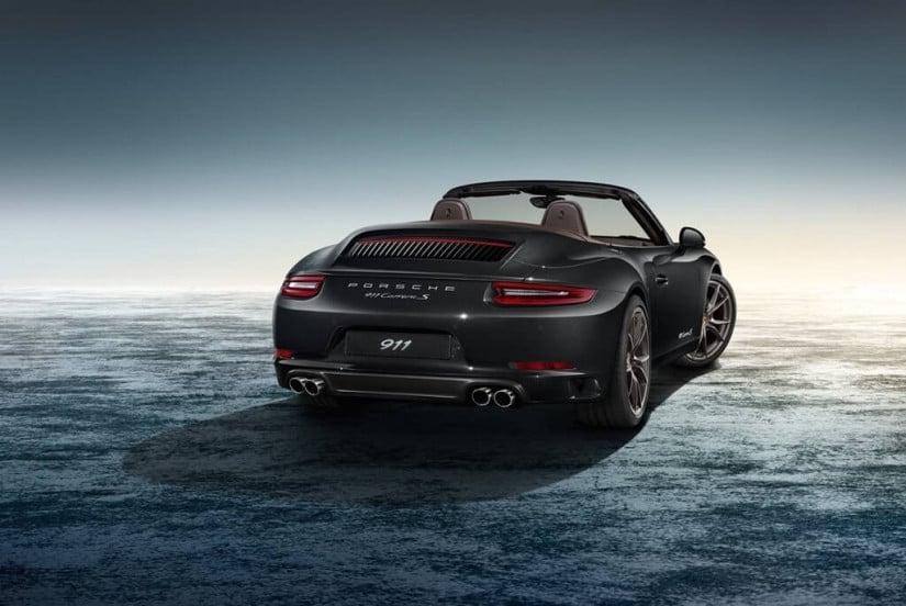 Back View, Porsche 911 Carrera 4