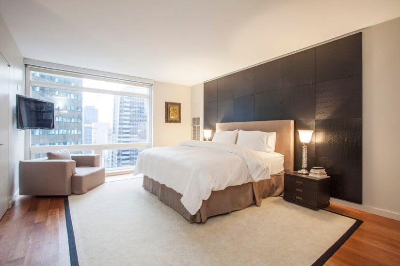 Bedroom, $10 Million New York Apartment