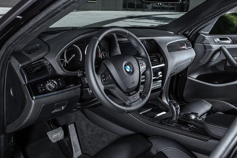 Black Interior, Lightweight Performance BMW X4