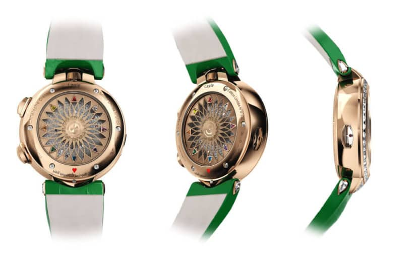 Case, Christophe Claret Layla Watch for Ladies