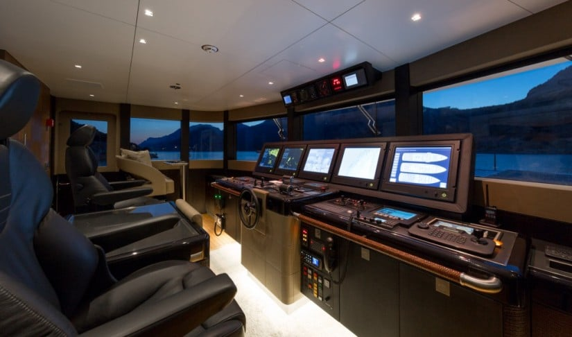 Control Room, Ruya Yacht by Alia Yachts