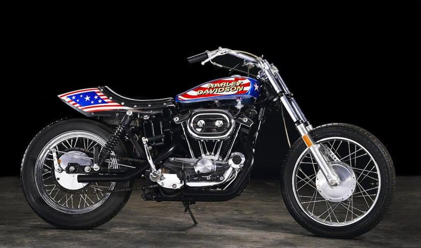 Custom Evil Knievel 1976 Harley-Davidson XL1000