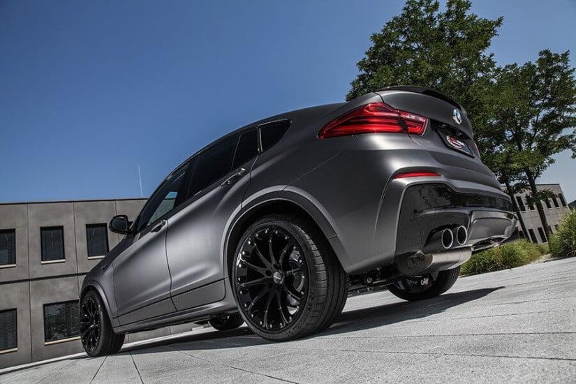 Dark Frozen Grey BMW X4