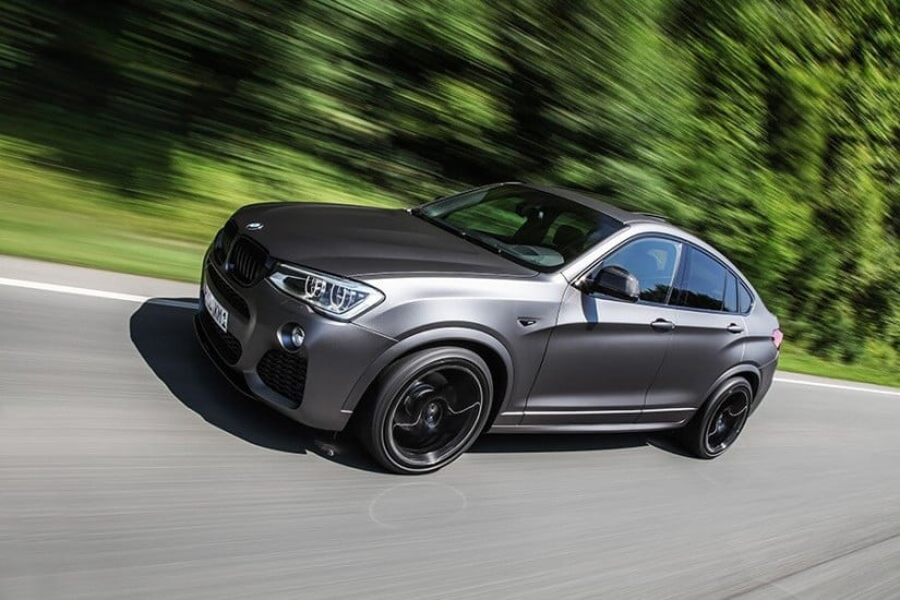 Dark Frozen Grey Lightweight Performance BMW X4