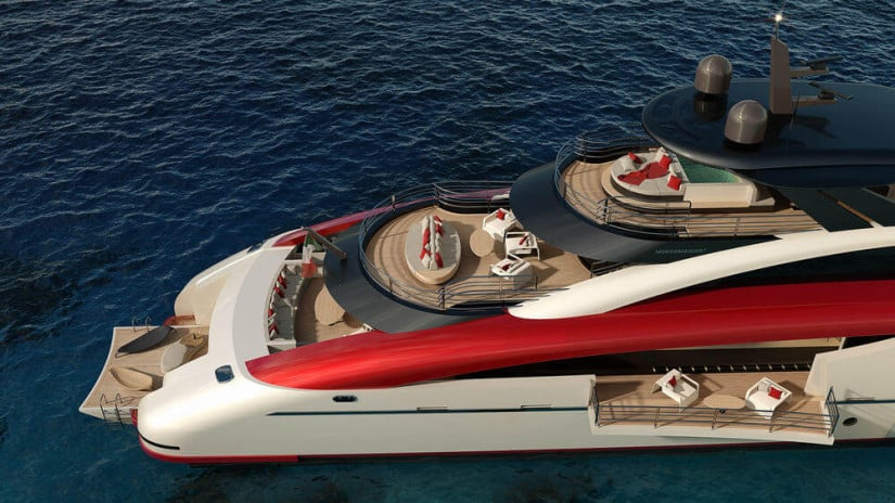 Deck M60 SeaFalcon Superyacht