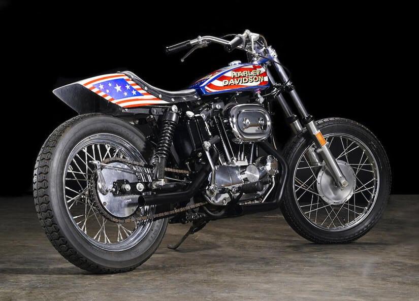 Evil Knievel 1976 Harley-Davidson XL1000 Motorcycle