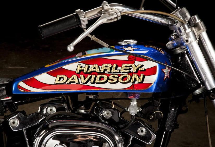 Evil Knievel 1976 Harley-Davidson XL1000,Fuel Tank