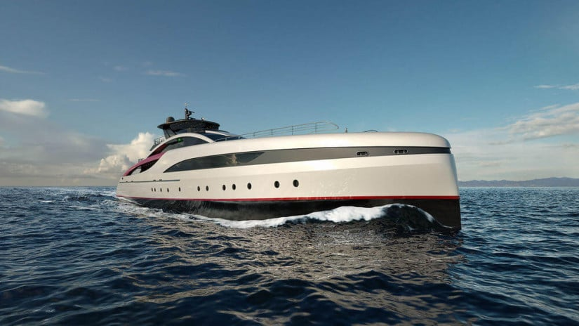 Exterior M60 SeaFalcon Luxury Yacht