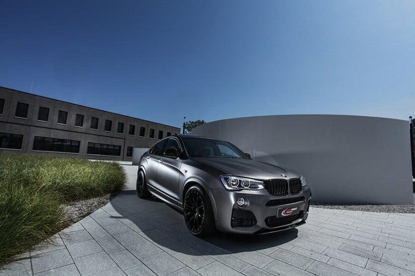 Front View, Lightweight Performance BMW X4