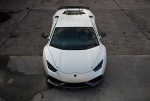 Front View Novitec Torado Lamborghini Huracan