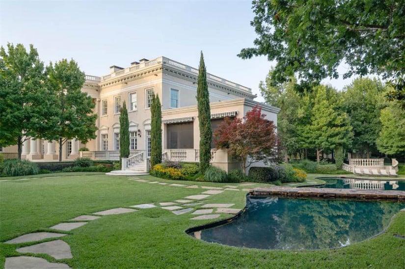 Garden, Dallas While House