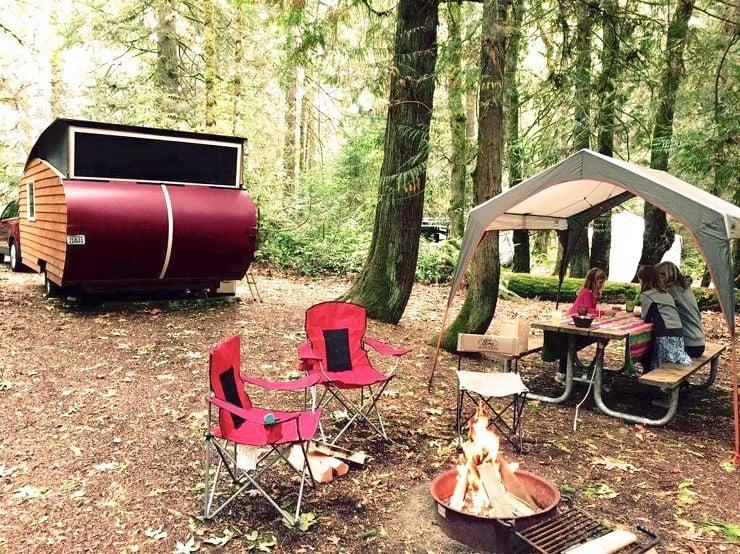 Homegrown Trailers Teardrop Camper 8