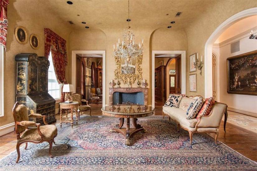 Interior Design, Dallas While House