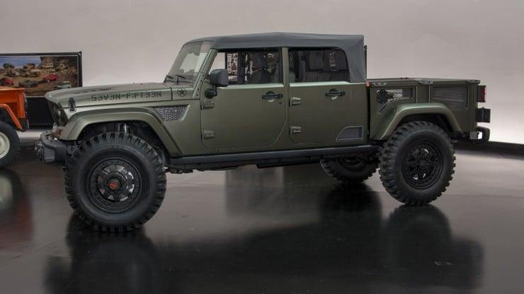 Jeep Crew Chief 715 Concept Men S Gear