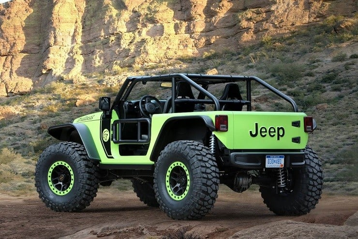 Jeep Wrangler Trailcat Concept 1