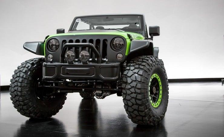 Jeep Wrangler Trailcat Concept Men S Gear
