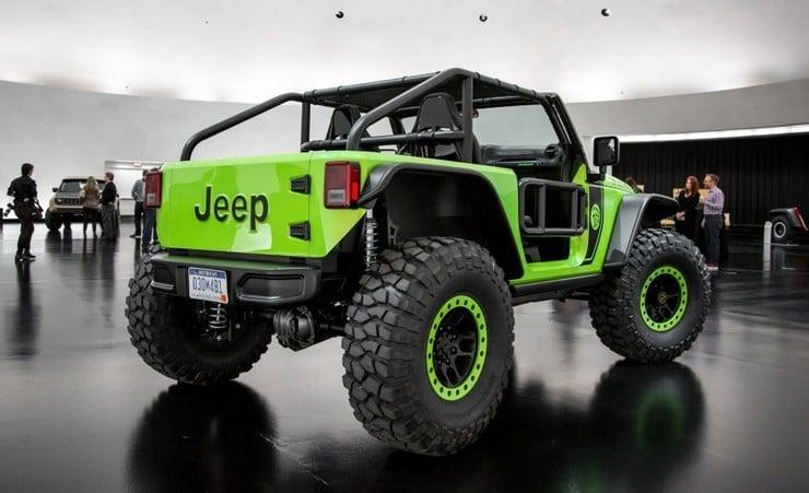 Jeep Wrangler Trailcat Concept | Men's Gear
