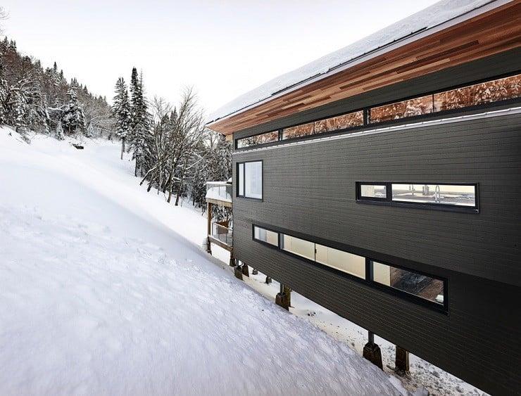 Laurentian Ski Chalet in Québec, Canada 1