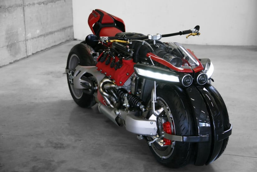 Lazareth LM 847 Motorcycle Maserati Engine