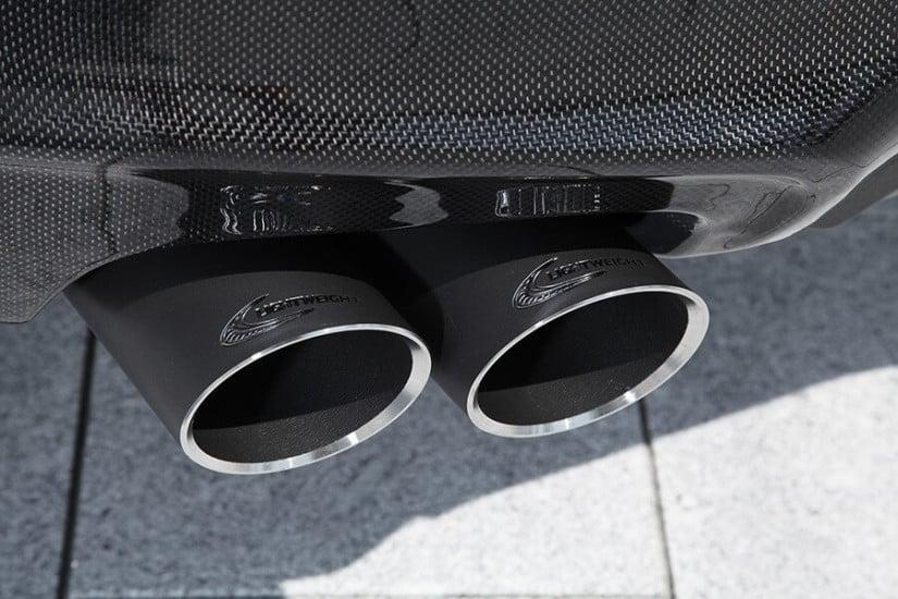 Lightweight Performance BMW X4, Exhaust Pipe