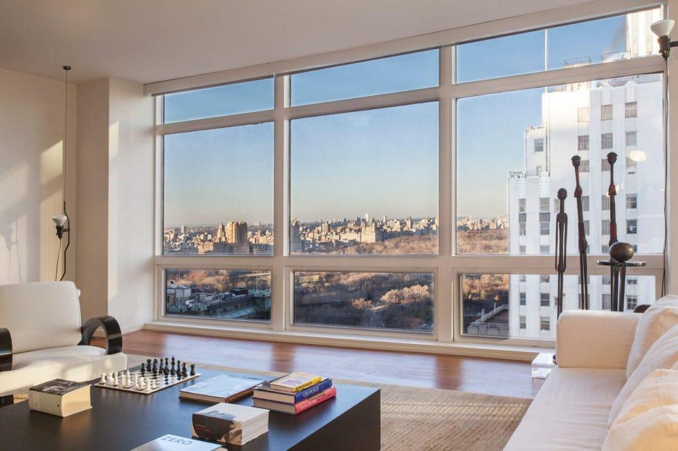 Living Room, $10 Million New York Apartment