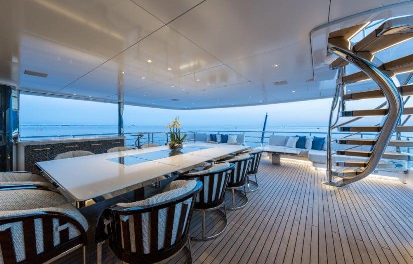 Lounge Area, Ruya Yacht by Alia Yachts