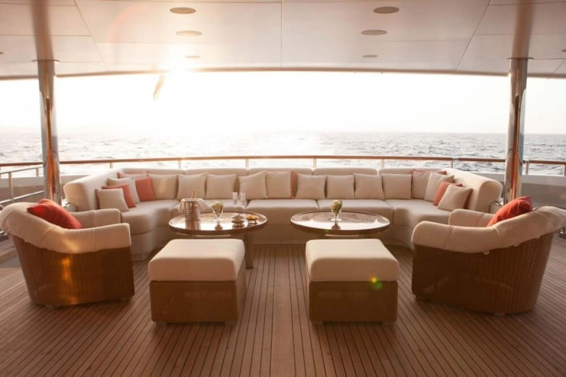 Lounge Area, St. David Superyacht