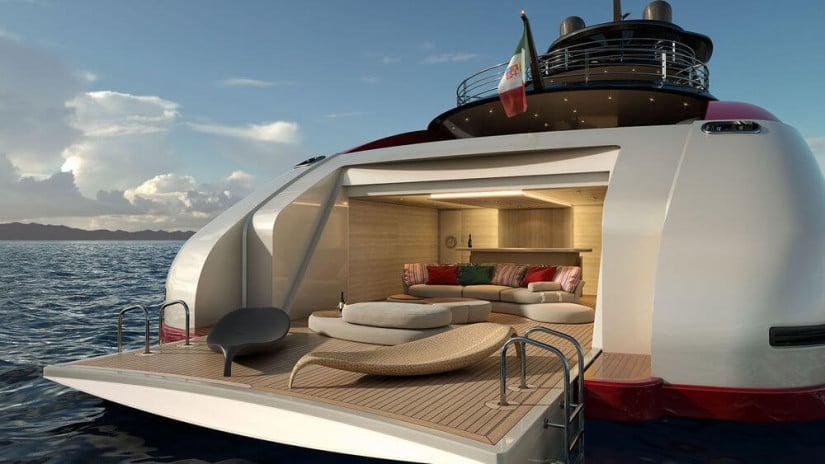 M60 SeaFalcon Superyacht Deck
