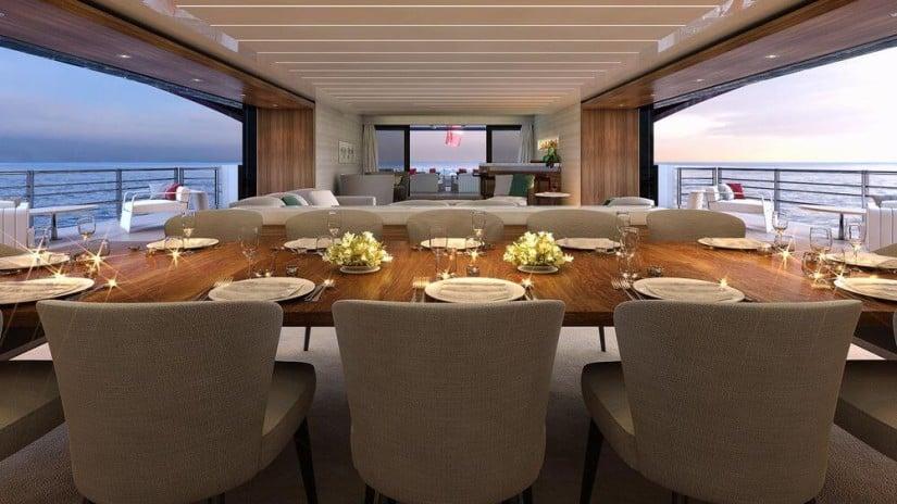 M60 SeaFalcon Superyacht Interior