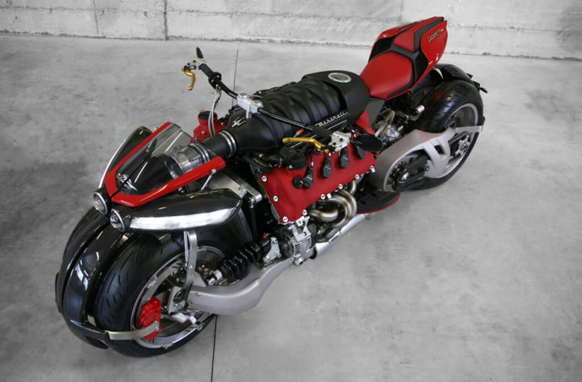Maserati Engine, Lazareth LM 847 Motorcycle