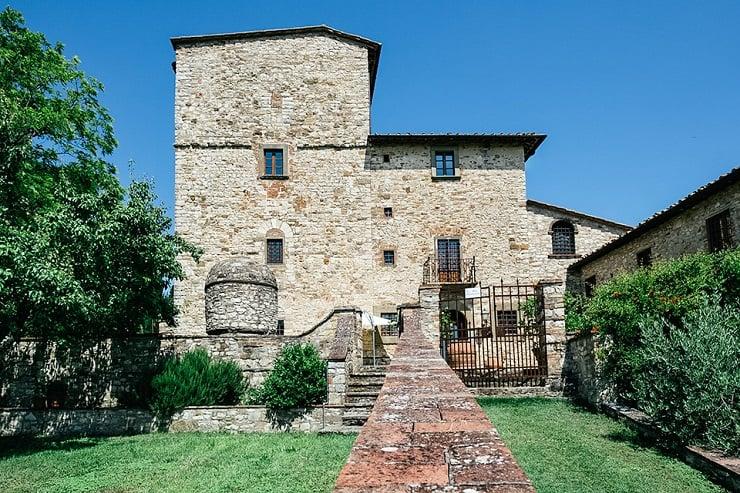 Michelangelo's Villa in Tuscany 1
