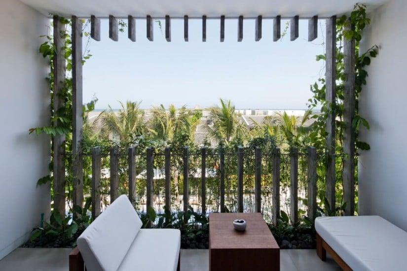Naman Retreat Luxury Resort, Balcony