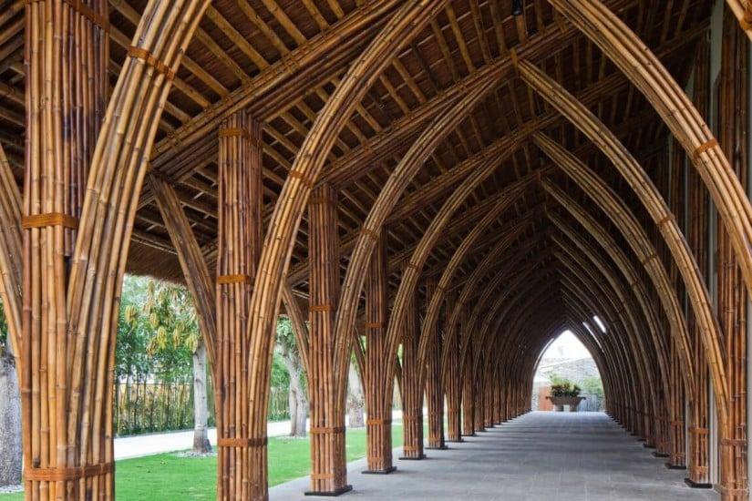 Naman Retreat Resort, Bamboo Structures