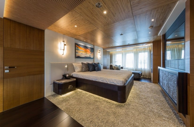 Owner's Suite, Ruya Yacht by Alia Yachts