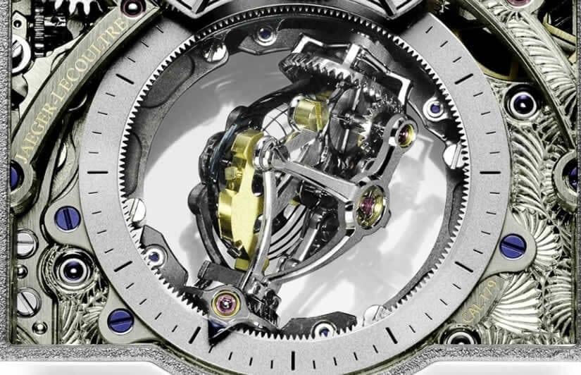 Reverso Tribute Gyrotourbillon, Mechanism