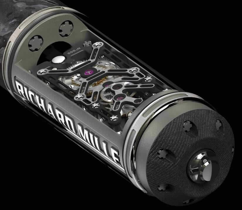 Richard Mille RMS05 Pen Mechanism