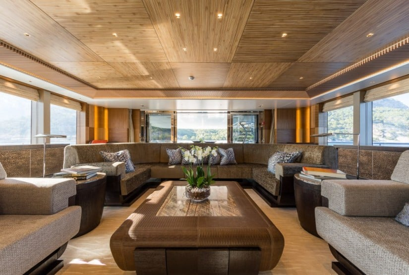 Ruya Yacht by Alia Yachts, Luxury Interior