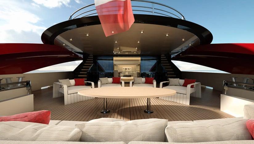 SeaFalcon Sport Yacht Deck