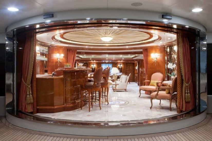 St. David Superyacht, Interior