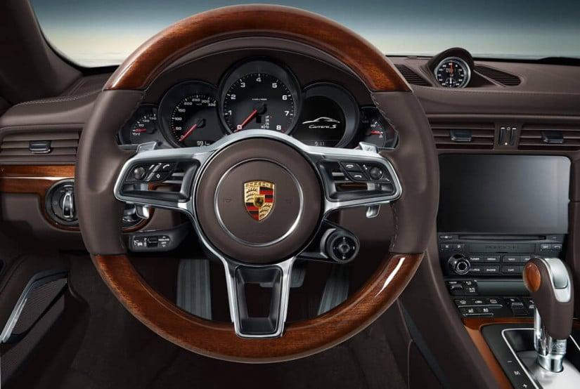 Wood Interior, Porsche Exclussive 911 Carrera 4 Cabriolet