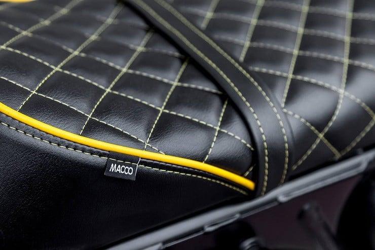 'The Wasp' Triumph Bonneville by Macco Motors 12