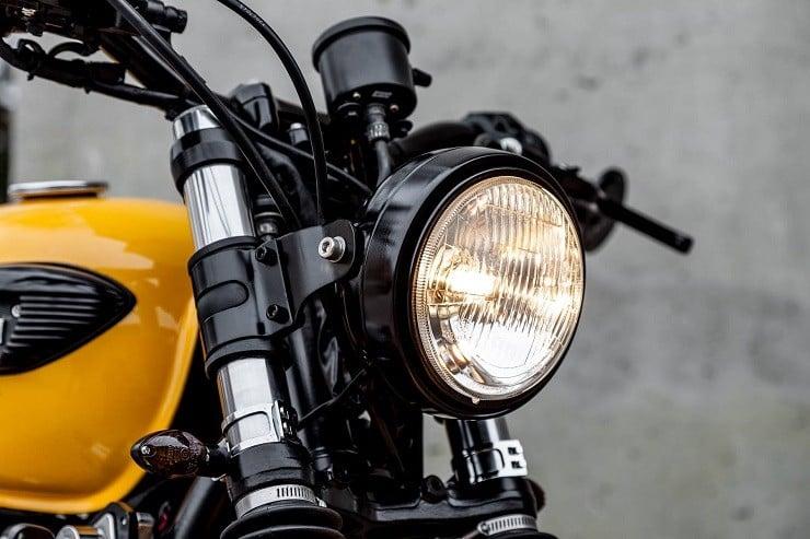 'The Wasp' Triumph Bonneville by Macco Motors 14