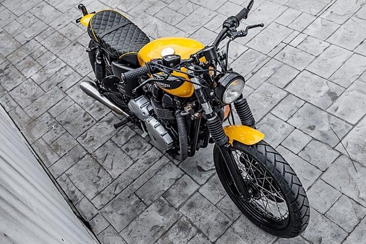 'The Wasp' Triumph Bonneville by Macco Motors 7