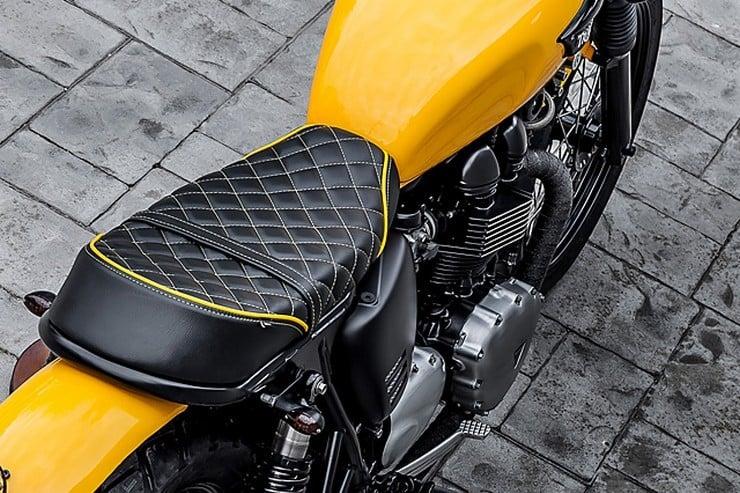 'The Wasp' Triumph Bonneville by Macco Motors 8
