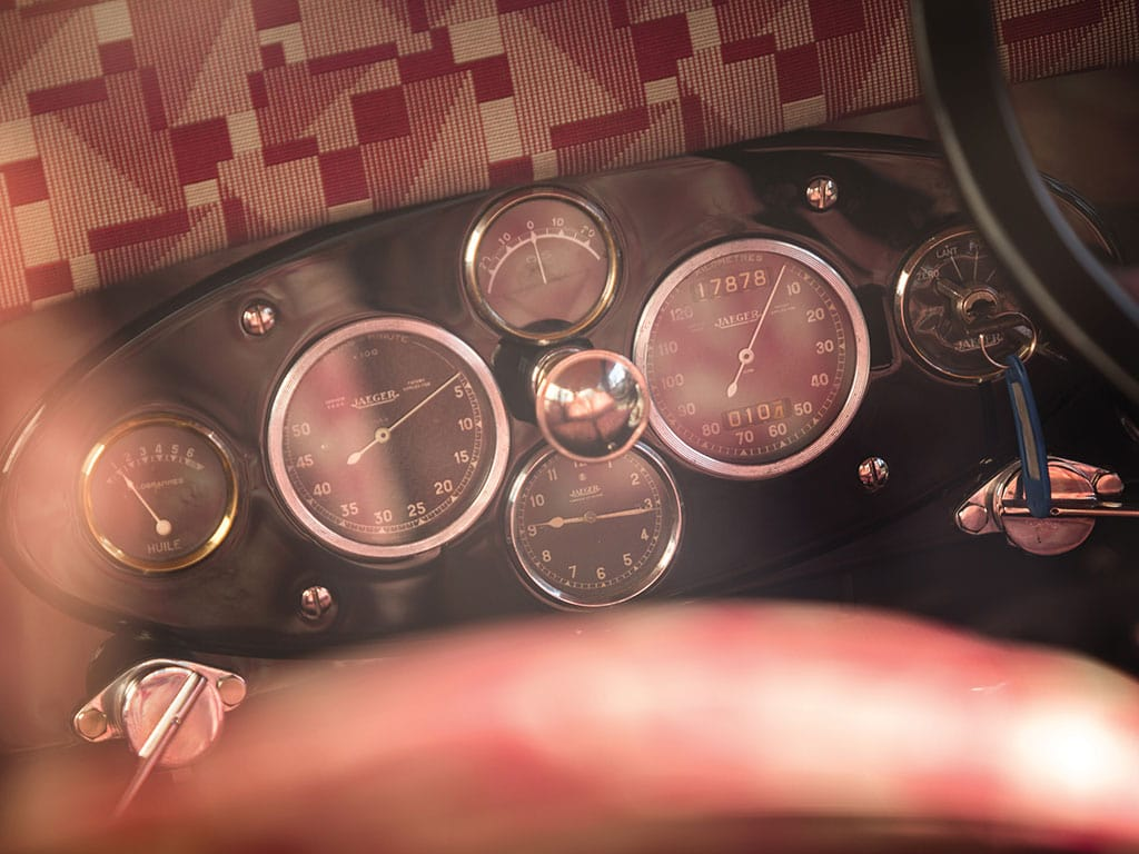 1927 Avions Voisin C14 Lumineuse, Controls