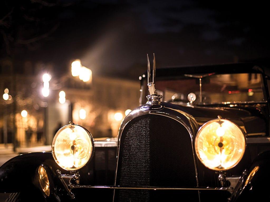 1927 Avions Voisin C14 Lumineuse, Lights