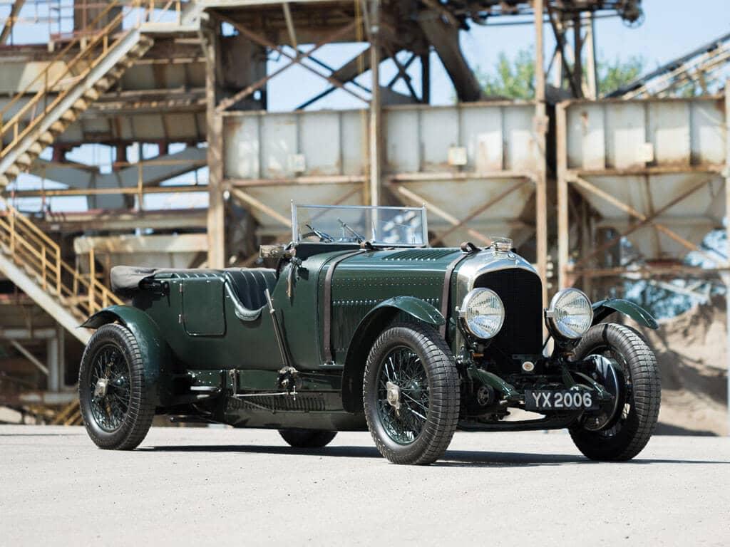 1928 Bentley 4 ½ -Liter Tourer, Front View