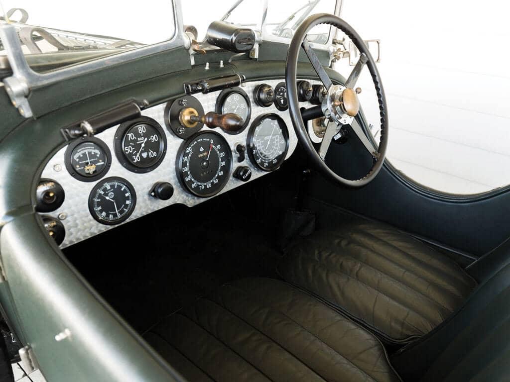 1928 Bentley 4 ½ -Liter Tourer, Interior