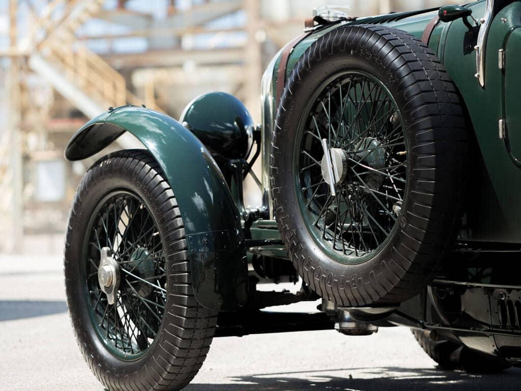 1928 Bentley 4 ½ -Liter Tourer, Wheels
