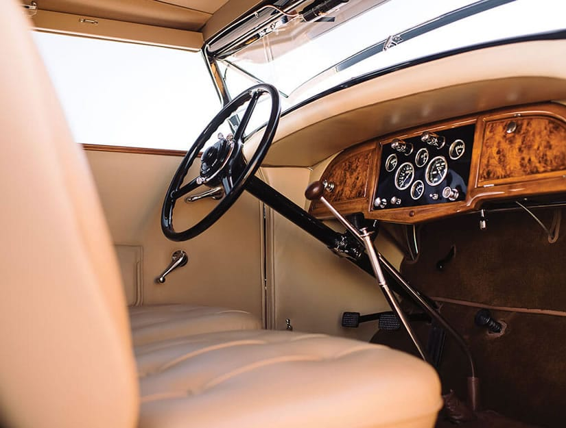 1931 Stutz DV-32 Convertible Victoria by Rollston, Steering Wheel